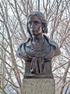 HARRIET BEECHER STOWE WRITER AND PROPHETIC WITNESS, July 1, 1896   www.bustsofwritersandpoets.com