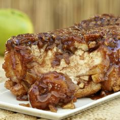 Apple Cinnamon Caramel Monkey Bread- Perfect treat for the kids. Sweet, crunchy and best served warm!