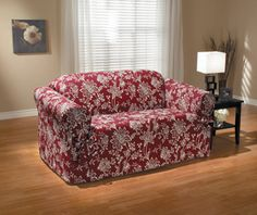 Verona Berry Relaxed Fit Slipcover
