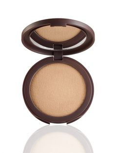 tarte's original Amazonian clay-infused tinted pressed powder in a next-generation, sleek compact.
