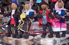 Germany's Dried Fruit People, Zwetschgenmaennla - German Culture