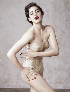 Marion Cotillard in nude lingerie