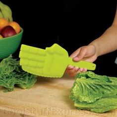 Ninja lettuce knife- Every Ninja Mom needs one! Cuts Lettuce & Keeps you in lineeee!! :D