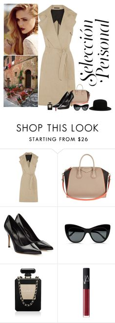 """""""Personal Selection"""" by katiethomas-2 ❤ liked on Polyvore featuring Theory, Givenchy, Sergio Rossi, STELLA McCARTNEY, Chanel, NARS Cosmetics and Comme des Garçons"""
