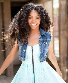Angelika Rose Turner, age Hundson, Six, Cashier (Face Claim- Genneya Walton) Project Mc Square, Curly Hair Styles, Natural Hair Styles, Project Mc2, Bad Girls Club, Long Natural Hair, Cute Girl Face, Young Fashion, Dream Hair