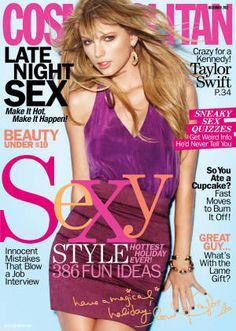 Taylor Swift is our December 2012 cover girl! Read her interview here.