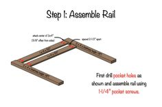 DIY Toddler Bed Rail | Step 1