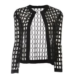 PIECE D ANARCHIVE knitted bolero