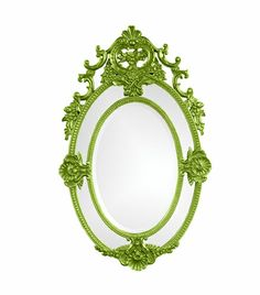 whimsical mirror.... lots of colors but this would look awesome in the girls' room