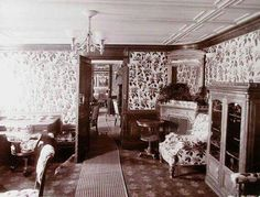 Interior of the Imperial Royal Yacht.A♥W