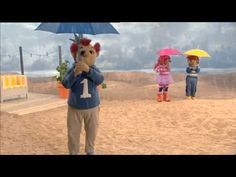 Het zandkasteel Het regent,het regent (HD)
