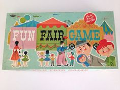 1961 Fun Fair Board Game Complete by babyshapes on Etsy