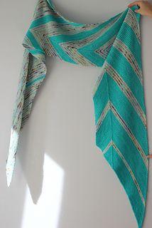 Mind Games shawl