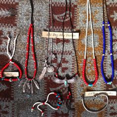 native American style accessory  https://www.facebook.com/media/set/?set=a.801108003341795.1073741884.229776673808267&type=3      -Silver 92.5 -Vintage White Hearts Bead -Silver Beads -Sleeping beauty Turquoise  -Buckskin rope  ‪#‎silverjewelry‬ ‪#‎シルバージュエリー‬ ‪#‎turquoise‬ ‪#‎ターコイズ‬ ‪#‎feather‬ ‪#‎フェザー‬ ‪#‎vintage‬ ‪#‎beads‬ ‪#‎ヴィンテージ‬ ‪#‎ビーズ‬ ‪#‎eagle‬ ‪#‎イーグル‬