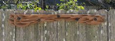 """Another """"Hanger"""" project created from old growth pecky cypress"""