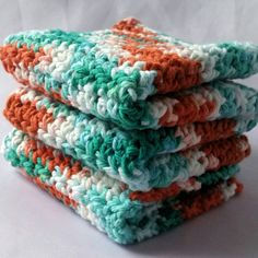 Check out this item in my Etsy shop https://www.etsy.com/listing/485897483/set-of-3-handmade-crochet-dishcloths-100