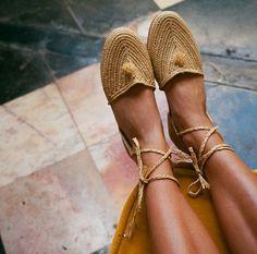 Raffia Moroccan Sandals
