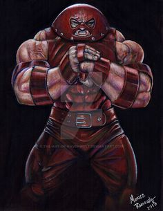 Juggernaut (Marvel) He is jacked. Once he gets going there is no stopping him literally. Marvel Comic Character, Comic Book Characters, Marvel Characters, Comic Books Art, Comic Art, Character Art, Arte Dc Comics, Dc Comics Superheroes, Marvel Villains