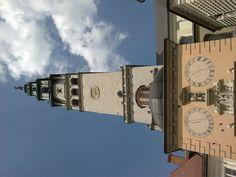 Częstochowa widok na wieżę Jasnogórską