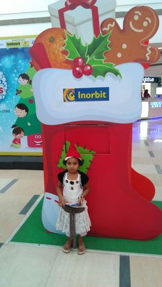 Adorable little Santa shared a smile this Christmas! #InorbitMakesMeSmile