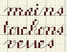 cuisine - kitchen - main - torchon - verre - point de croix - cross stitch - Blog : http://broderiemimie44.canalblog.com/