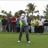 Tiger Woods Golf Swing Video – 2013, Face On View, 300fps Slow Motion, Driver
