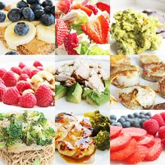Clean Eating Diet Plan - Eat Clean; Feel Better. Find more clean eating ideas and recipes, including delicious clean eating dinner ideas, lunch and snacks, at www.bestcleaneatingrecipes.com and www.cleaneatingrecipesblog.com. Some of these sound good.