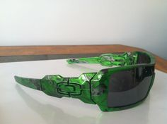These were flat black Oakleys, changed up at Chrome Fish Customs in Port Saint Lucie, FL. Hydrographic Dipping, Hydrographic Printing, Hydro Graphics, Oakley Straight Jacket, Paint Dipping, Port Saint Lucie, Custom Car Interior, Water Transfer Printing, Hydro Dipping