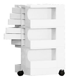 Too bad it's $$$...Share and get a 10% off coupon code! Office Furniture: Joe Colombo Boby Storage Trolley Organizer 3/6 | Available from NOVA68.com Modern Design