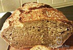 (A bögrénk dl-es. Sans Gluten Ni Lactose, Sin Gluten, Recetas Monsieur Cuisine Plus, Sesame, Kiss The Cook, Hungarian Recipes, How To Make Bread, Bread Recipes, Banana Bread