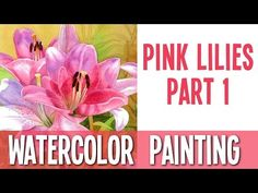 This is part two of my previous video of painting this beautiful flowers of alstremeria (peruvian lily). I love this little dots on the petals. Hopy you like...