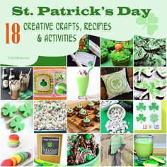 18 Creative Ideas for St. Patrick's Day at TidyMom.net