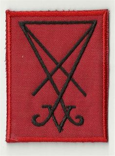 Sigil of Lucifer   embroidered patch 4  X 28 INCH by egle123, $8.98