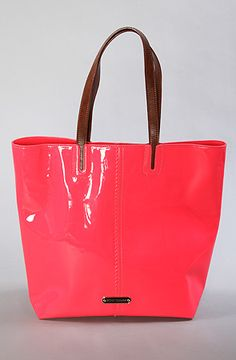 $98 The Neon North South Tote Bag by Betsey Johnson - Use repcode SMARTCANUCKS for 10-20% on #karmaloop - http:/www.lovekarmaloop.com