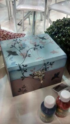 #caja con #Stencil