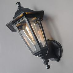 Wall Lamp New Haven Up and Down Black