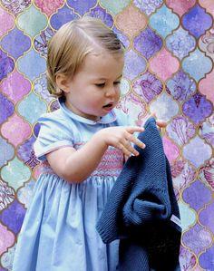 Lovely little Princess Charlotte