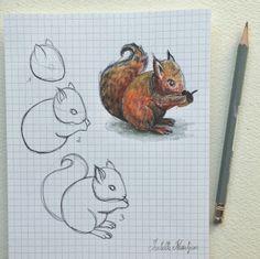 Isabelle Kessedjian: DIY : dessin du mercredi #5