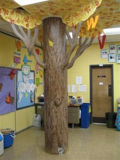 Jefferson Elementary School: Trees / Kindergarten Rms by Deborah Zwickler, via Behance
