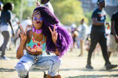 Photographer Tyler Joe's back at it again capturing amazing style moments from the two-day festival.