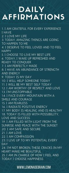 Affirmations for Success - Lemonade Brain - Self Love Quotes - # Positive Affirmations Quotes, Affirmations For Women, Self Love Affirmations, Words Of Affirmation, Morning Affirmations, Law Of Attraction Affirmations, Positive Quotes, Motivational Quotes, Inspirational Quotes