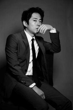 Steven Yeun from The Walking Dead