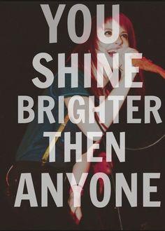 50 Of The Best Paramore Lyrics photo Sara Scoggs' photos --- brighter by Paramore