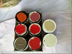 Mix Your Own Chalkboard Paint Kit