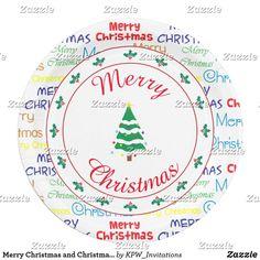 Merry Christmas and Christmas Tree
