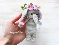 Cuddle Me Elephant Amigurumi Pattern
