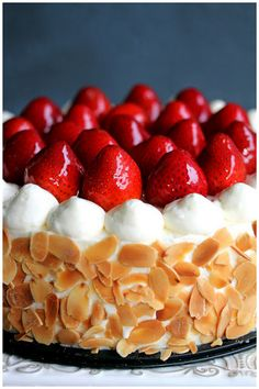 Matcha Strawberry Shortcake by Foodagraphy. By Chelle