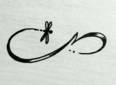 Infinity dragonfly tattoo design!!!