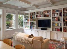 Bir evin, kitaptan daha güzel bir süsü olabilir mi? Oturma odanızın bir duvarını, hem kitaplık hem de televizyon modülü olarak kullanabileceğiniz güzel bir tasarım. #dekorasyon #dekorasyonfikirleri #dekorasyonönerisi #dekorasyonönerileri #dekorasyononerisi #kitaplık #kitaplik #kitapliklar #kitaplıklar #kitapliklarim #kütüphane #kutuphane #kütüphanem #marifetix #marifetix.com #evdekorasyon #oturmaodası #oturmaodasi #evdizayn