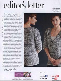 Vogue Knitting 2014-2015 Winter - Basil - bazsalikom blogja